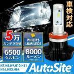 H7 H8 H9 H10 H11 H16 HB3 HB4 LEDフォグランプ ヘッドライト 8000Lm 6500k オールインワン ファンレス ハイビーム ロービーム PHILIPS 12v/24v AutoSite AS70