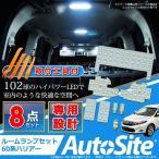 ハリアー60系 LEDルームランプセット 専用 LED102球 ハンディリムーバー付
