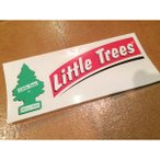 <ネコポス対応商品>リトルツリー デカール レッド Little Tree