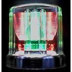LEDミニソーラー(ソーラー式工事灯)【イノシシ対策 鳥獣対策 センサー付 防獣ライト】