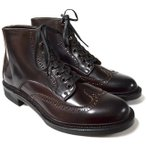 Makers メイカーズ 靴 BROGUE WING 15AW DARK BURGUNDY【感謝デーSALE】