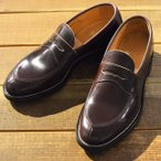 Makers メイカーズ 靴 V TIP LOAFER 15AW BURGUNDY