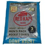 RED KAP レッドキャップ Heavy Weight Crew Neck Pocket Pack Tee GRAY SP2PJ
