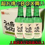チョウムチョロム 焼酎17.5度 360ml 日本語表記 ★販売単位:1BOX(20本)