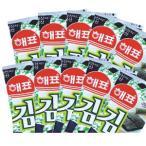 韓国のり ヘピョ 弁当用海苔 1袋(10パック入り)