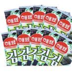 韓国のり ヘピョ 弁当用海苔 1袋の内容量:10パック ★販売単位:1BOX(30袋)