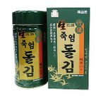 韓国のり 生 竹塩 岩海苔 1缶(8切X180枚)