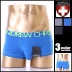 AndrewChristian/アンドリュークリスチャン Happy Boxer ボクサーパンツ メンズ ローライズ  コットン 綿 タグレス 男性下