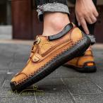 シューズ 紳士靴 カジュアル革靴 コンフォートシューズ ローカット オシャレ メンズシューズ  メッシュシューズ カジュアルシューズ 革靴