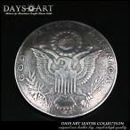 コンチョ メタル 合金 ネジ式 パーツ ボタン カスタム レプリカコインコンチョ アメリカ1ドル硬貨 イーグル