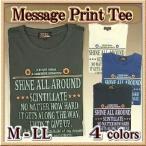 ショッピングプリント プリントTシャツ メンズ 半袖 / ロゴプリント / M-LL