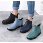 レインブーツ メンズ 防水 ショートブーツ 長靴 メンズブーツ スノーシューズ スノーブーツ ワークブーツ コンフォート 靴 メンズシューズ