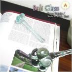 ガラス製のスティック バリガラス フリースティックA バリガラスブルー プルメリア GCT-0177-A アジアン雑貨 バリ雑貨