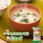アマノフーズ フリーズドライ味噌汁 いつものおみそ汁 長ねぎ 9g×10食セット