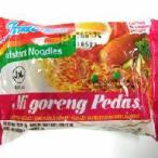 激辛ミーゴレン(インドミー)5袋セット、辛口バリ風焼きそば インドネシアのインスタントやきそば