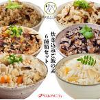 炊き込みご飯の素 6種のお試しセット 九州産  化学調