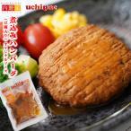 無添加 煮込みハンバーグ (豆腐入り) 1個 レトルト惣菜  uchipac