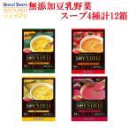 ソイズデリ 豆乳と野菜の無添加スープ4種の詰め合わせセット(36食分) 北海大和 インスタントスープお試しセット