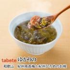 フリーズドライ食品 和歌山 紀州南高梅と紀州ひろめのお椀郷土汁 (tabete ゆかりの)