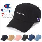 チャンピオン キャップ ローキャップ デニム コットン メンズ レディース CHAMPION 帽子 ロークラウン LOW CAP GOLF ゴルフ ストラップバック