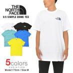 【2枚で100円割引クーポン】ノースフェイス Tシャツ THE NORTH FACE SIMPLE DOME TEE メンズ レディース 大きいサイズ
