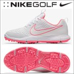 ショッピングナイキ シューズ ナイキゴルフ NIKE GOLF  レディース スパイクレス ゴルフシューズ エクスプローラー 2 AA1847  ホワイト/サンセットパルス/ホワイト