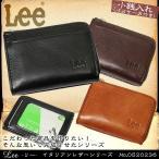 小銭入れ付きパスケース コインケース メンズ 革 レザー 小銭入れ ブランド Lee リー Italian Leather イタリアンレザー 財布 パスケース付き