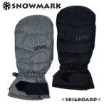スノーミトン メンズ 男性 手袋 防寒 内側トリコット起毛 グローブ