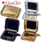 GearTop ギアトップ 携帯灰皿 タバコ置き付きのポケットアシュトレイ 日本製 Made in Japan