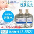 【定期便・毎月1セットを6ヶ月お届け】阿蘇恵水 ウォーターサーバー用ボトルウォーター 12L×2本セット ボトル水 ワンウェイボトル