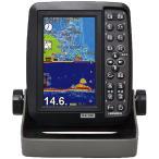 魚探 HONDEX ホンデックス 5型ワイドカラー液晶 GPS内蔵 ポータブル魚探 PS-611CN 200KHz TD04A 100W