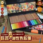 巨匠の 油性色鉛筆 100色 72色 48色 36色 24色 えんぴつ ペン 絵画 デッサン 風景画 模写 アート 人物 上達 趣味 キャンパス KYOSHOPEN