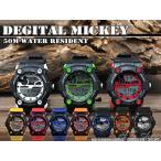 Disney 腕時計 ミッキー スポーツデジタルウォッチ ディズニー キャラクター デジタル腕時計 キッズ クリスマスプレゼント