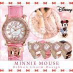 ディズニー 腕時計 レディース Disney ミニーマウス リボンチャーム ウォッチ