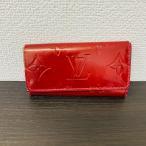 ジャンク Louis Vuitton ルイヴィトン ヴェルニ ミュルティクレ4 キーケース 4連 M91976 本体のみ (K)