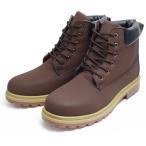 カジュアルブーツ メンズ レディース ワークブーツ シューズ 靴 PU革 イエロー ロング 29cm