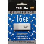 TOSHIBA(東芝) USBメモリー (TransMemory) USB2.0 Windows7 / Mac対応 16GB 海外パッケージ品 UHYBS-016GH 並行輸入品