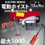 電動ウインチ(ホイスト) 最大能力1000Kg 2000w