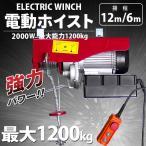 電動ウインチ(ホイスト) 最大能力1200Kg 2000w