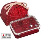 ●送料無料●弁当箱 ランチボックス 500ml「月花」巾着付 日本製 PCL1+KB1