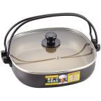 ●55%OFF●IH対応 角型 すきやき鍋 兼用 餃子鍋 26cm 「陳健一」 CK-616