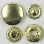 ドットボタン(ホック)BrandX 15mm P-BSD(GOLD)xP-BSD(GOLD) キャップサイズ15mm 5セット入 ソフトな着脱感(ジャケット・コート向)