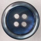 プラスチックボタン K5(青) 23mm 1個入 (カラフル・貝調) IPS5 (ジャケット・コート向) ボタン 手芸 通販