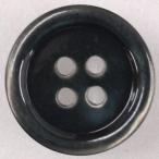 プラスチックボタン K9(黒) 15mm 1個入 (カラフル・貝調) IPS5 (シャツ・ブラウス・ジャケット・スーツ袖向) ボタン 手芸 通販