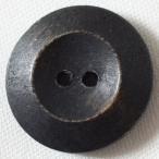 木ボタン(ウッドボタン) (濃グレー) 23mm 1個入 天然素材 OW6900-06 (ジャケット・コート向) ボタン 手芸 通販