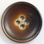 プラスチックボタン 46(茶系) 23mm 1個入 (ナット調) VT84  (ジャケット・コート向) ボタン 手芸 通販
