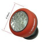 AP 24LED フレキシブル ボタン型ライト【LEDライト 作業灯 ワークライト】【角度変更 フレキ】【アストロプロダクツ】