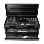 AP ツールセット マット ブラック(68点組) TS195 | 工具セット 工具 ツールセット 一式 ソケット クイックリバース ギアレンチ 点検 整備 組立 ガレージ