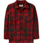 フィルソン ジャケット&ブルゾン メンズ Filson Mackinaw Cruiser Alaska Fit Jacket Red/Black 送料無料