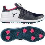 ショッピングプーマ シューズ プーマ シューズ レディース ゴルフ PUMA Women's IGNITE Blaze Sport DISC Golf Shoes NavyWhite